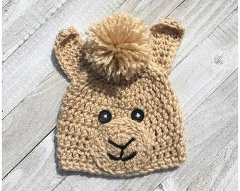 Alpaca hat | Etsy