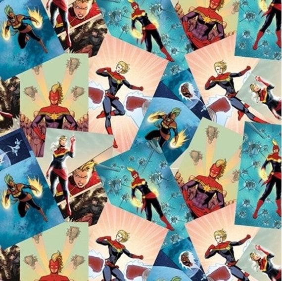 Carol Danvers pillowcase Girls pillowcase, Captain Marvel pillowcase Standard size pillowcase
