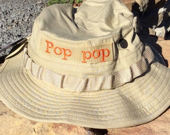 Boonie Hat for Dads, Boys, Men and Boy Scouts BSA Personalized