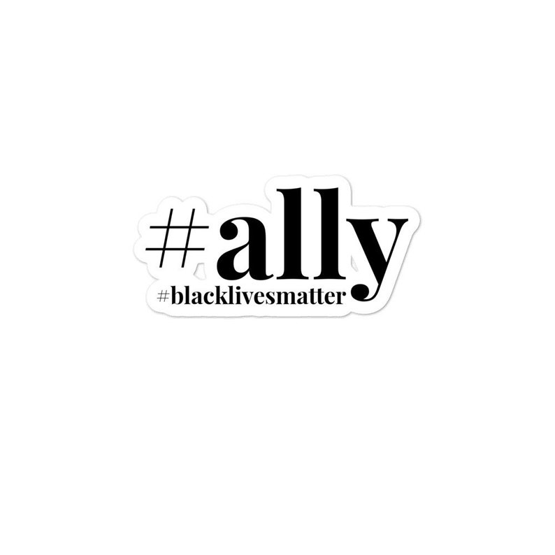 ALLY Bubble-free stickers