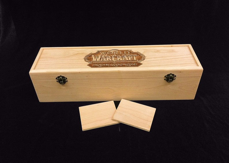World of Warcraft Trading Card Game Engraved Deck Box with image 0