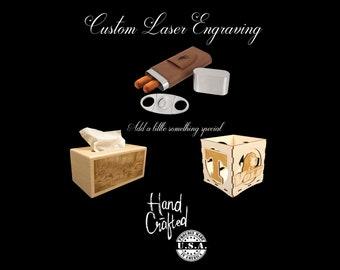 Custom Laser Engraving For Your Box