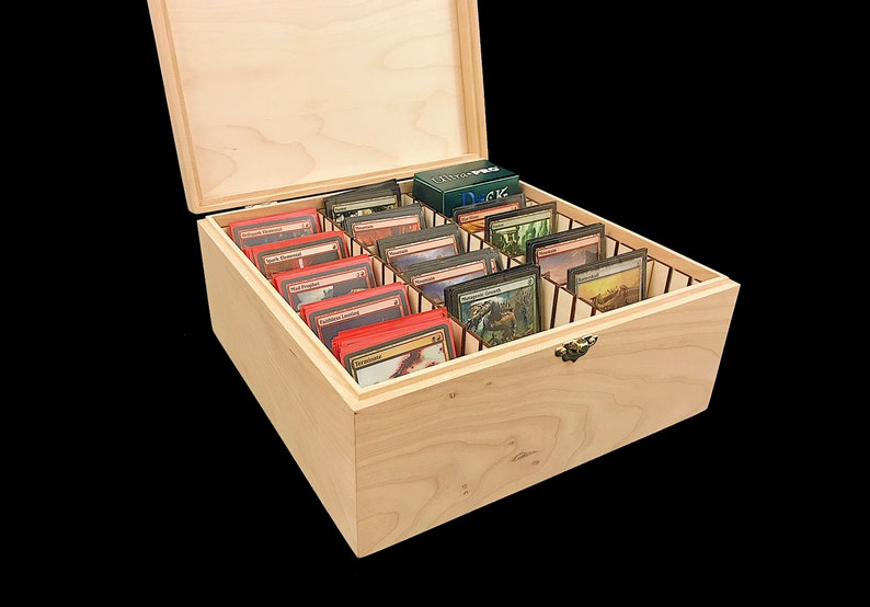 Unfinished Wooden Deck Box with Hinges & Latches-10 1/4 x 10 image 0