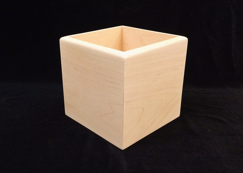 Unfinished Wood Boxes  great for centerpieces image 0
