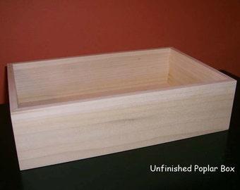 open wooden box etsy