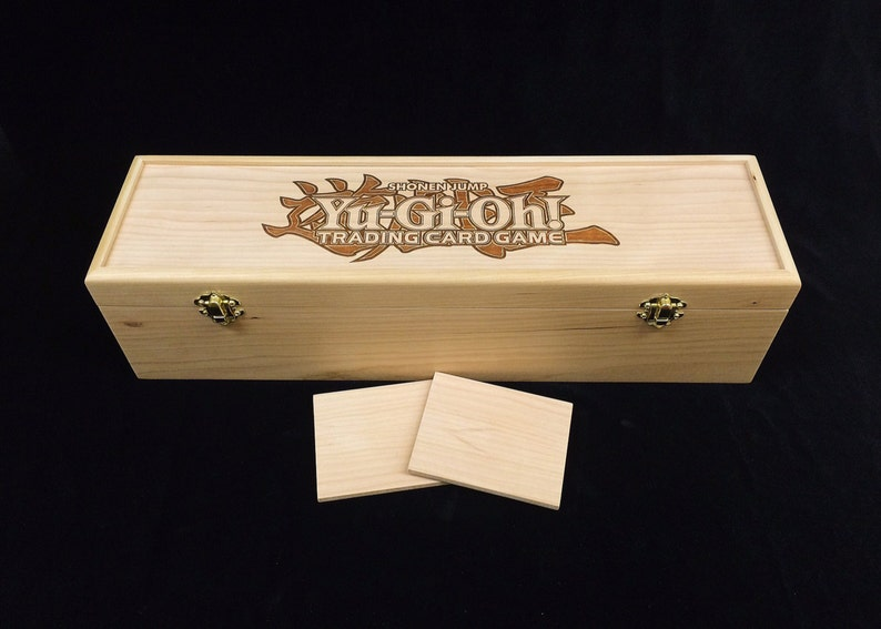 Yu-Gi-Oh Deck Box with Hinges & 2 Latches-16 3/4x4 1/2 x4 1/4 image 0