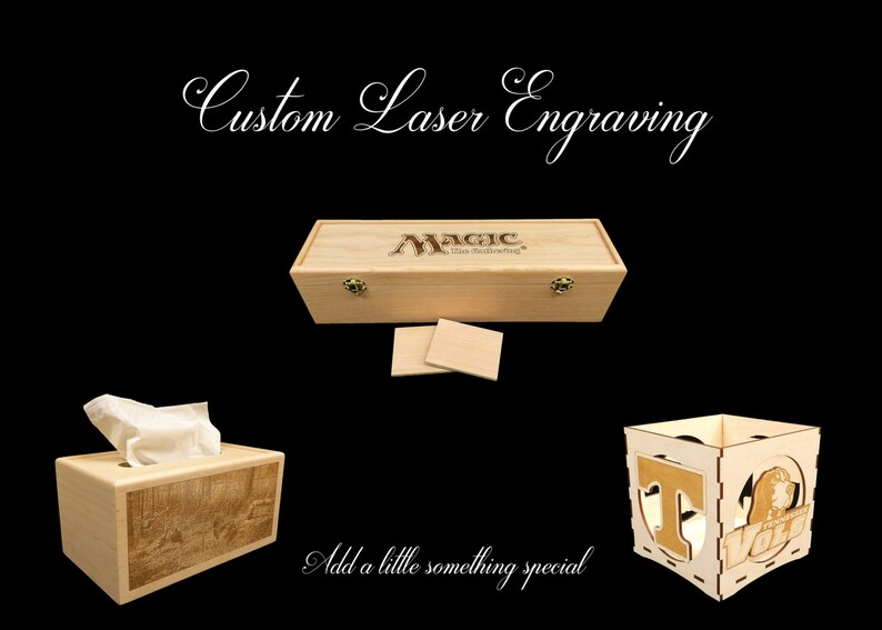Custom Laser Engraving For Your Box image 0
