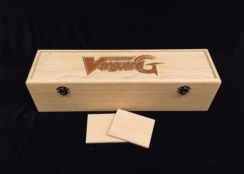 Cardfight Vanguard G Engraved Deck Box with Hinges & 2 image 0
