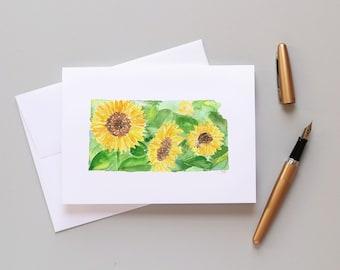 Kansas Sunflower Note Card Set