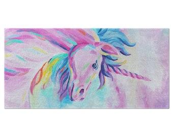 Abby'S Unicorn Bath Towel