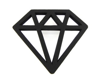 Diamond Paper Cut Outs set of 25
