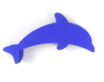 Dolphin Paper Cut Outs set of 25
