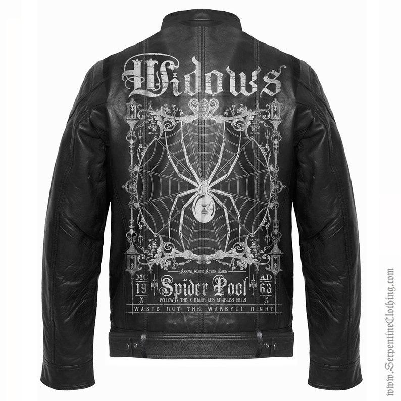Widows Women s Leather Moto Jacket VEGAN LIMITED  9e161fa122
