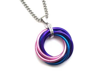 Bisexual necklace