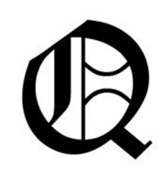 Letter Q Old English Lettering Alphabet Vinyl Decal Etsy