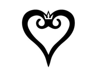 Car / House / WIndow Heart Decal
