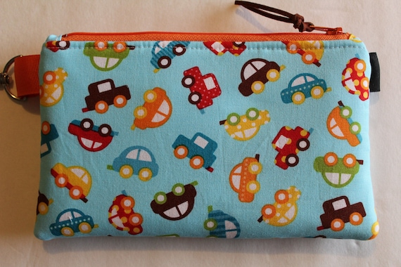 Zipper Top Travel Medical Bag Insulated Snack Bag Black with Bows 8 x 5 Epi Pen Case Water Repellent Lining