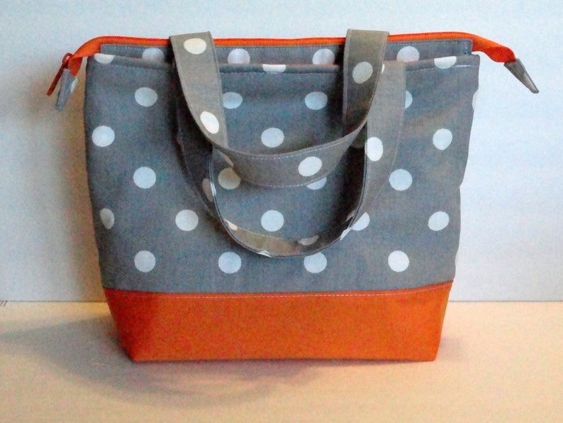 Lunch Bag Adult Lunch Bag Insulated Womens Lunch Bag Large Zipper ... 07a91abeb2