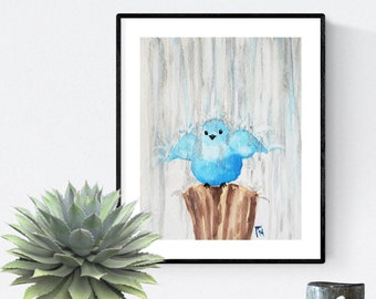"8"" x 10"" Art Print -All Wet-"