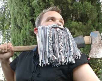 Gray Cosplay Beard