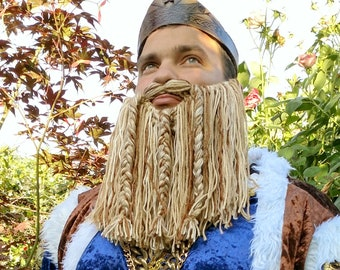 Blond Cosplay Beard