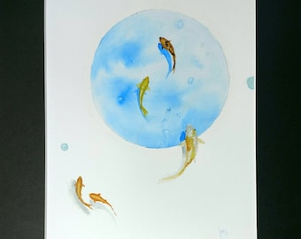 Watercolor -Flow-