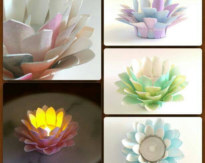 Featured listing image: Paper Lotus Lantern -Customized By You-