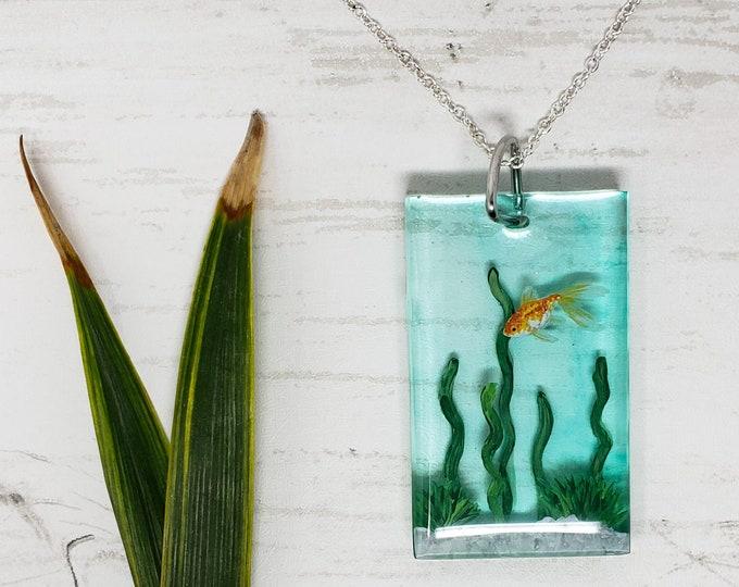 Pendant - Goldfish Aquarium
