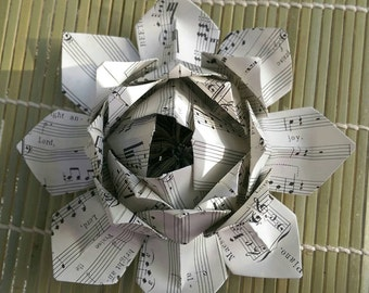 Paper Lotus Lantern -Sheet Music-
