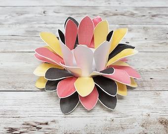 Watercolor Paper Lotus Lantern -Zen 2-