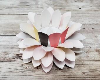 Watercolor Paper Lotus Lantern -Zen-