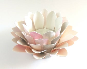 Paper Lotus Lantern -Watercolor Zen-
