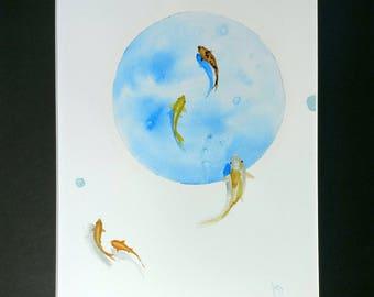 Watercolor -Flow-