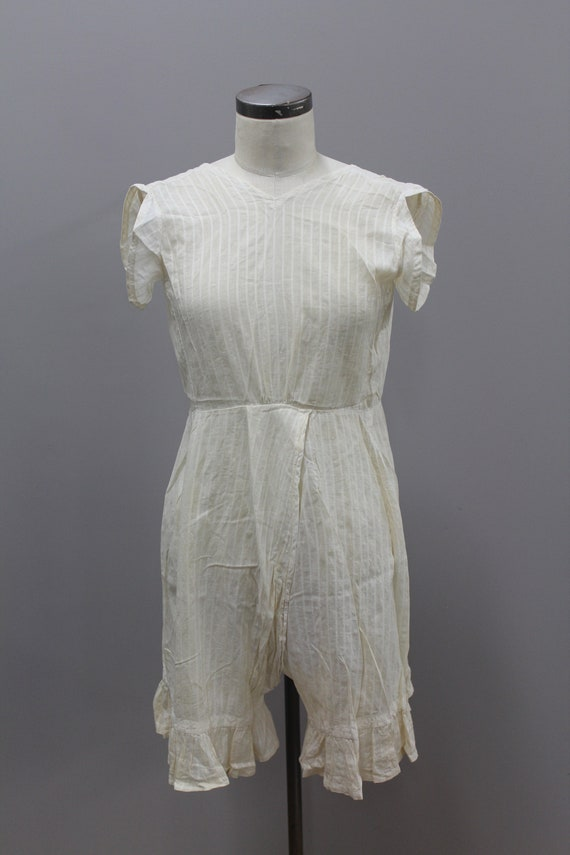 Antique Off White Bloomers, Turn of the Century B… - image 3