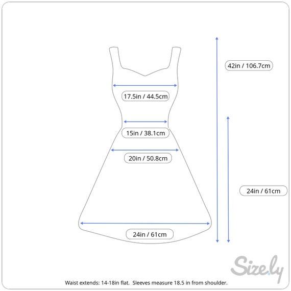 Vintage Cotton Denim Dress, 1980s Batwing Denim D… - image 2
