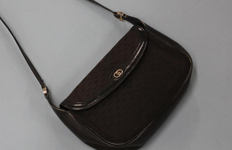 3d98986987f3 Vintage Gucci Shoulder Bag Crossbody authentic Gucci handbag | Etsy