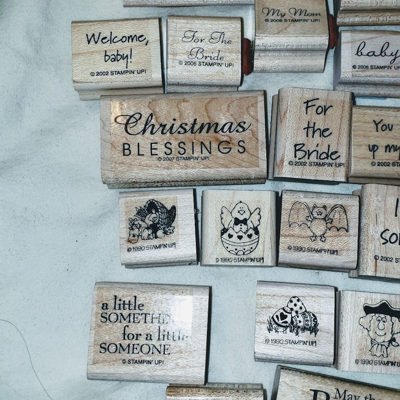 NEW Lot of Stampin Up stamps over 40 Stamps