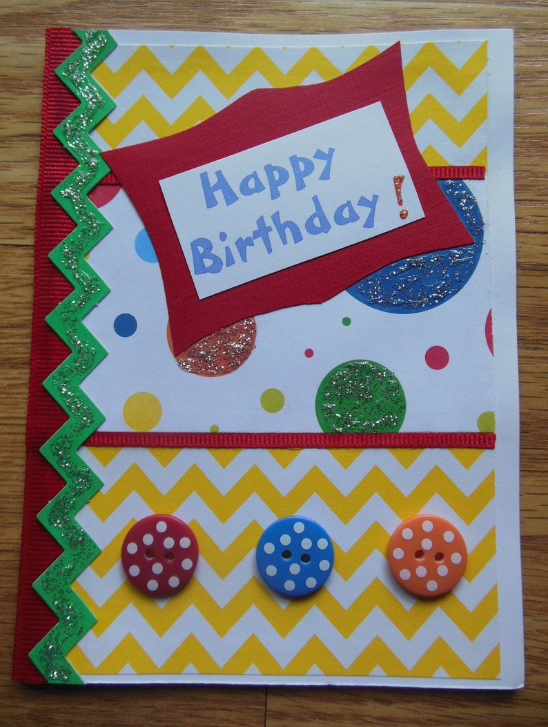 Birthday Cards Greeting Hand Made