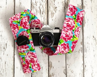 Photographer Thank You Gift Photography Padded Camera Strap Cover,Neck Strap- REVERSIBLE- Padded- DSLR- Yellow Chevron Cars