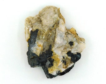 Schorl & Microcline Fluorescent Mineral Specimen from South Dakota Free Shipping Free Returns