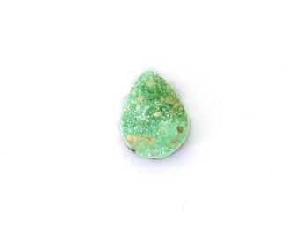 Natural Turquoise Designer Cabochon Gemstone Free Shipping Free Returns 12.8x16.7x4.5 mm