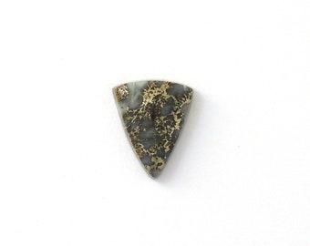 Metallic Mohawkite in Quartz Designer Cabochon Gemstone 15.3x18.9x5.2 mm Free Shipping Free Returns