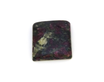 Red Eudialyte Cabochon Gemstone 22.2x25.0x6.0 mm Free Shipping Free Returns