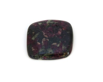 Red Eudialyte Cabochon Gemstone 29.1x30.0x5.4 mm Free Shipping Free Returns