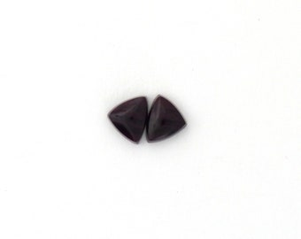 Sugilite Designer Cabochon Matched Pair 7.4x9.1x3.2 mm Free Shipping Free Returns