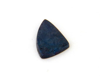 Metallic Blue Covellite Designer Cab Gemstone 13.1x22.8x3.2 mm Free Shipping Free Returns
