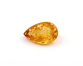 Brazil Citrine Designer Gemstone 16.0x25.3x10.4 mm Free shipping