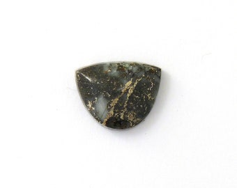 Metallic Mohawkite in Quartz Designer Cabochon Gemstone 17.6x21.8x17.5 mm Free Shipping Free Returns