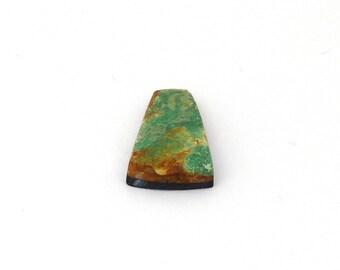 Natural Turquoise Designer Cabochon Gemstone Free Shipping Free Returns 12.7x20.2x4.1 mm