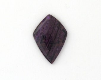 Sugilite Designer Cabochon Matched Pair 19.7x28.3x3.1 mm Free Shipping Free Returns